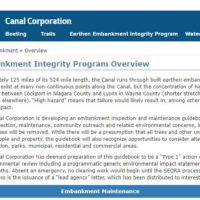Canal Embankment Integrity Program Delivers a Safer NY State Canal