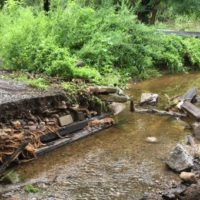Culvert Washed Out in Recent Storm