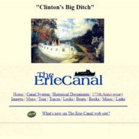 This is the place to go for Erie Canal Information