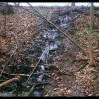 Embankment Piping – Another problem with earthen dams.