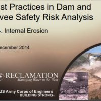 This is a MUST READ about Embankment Dam & Levee Safety