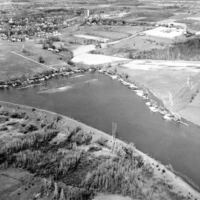 The Oxbow Lake Embankment Dam in Perinton – 1918 vs 2018 Comparison