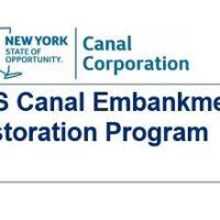 Take a walk along a newly restored Erie Canal Earthen Embankment Dam